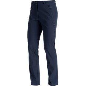 Mammut Runje - Pantalones de Trekking Mujer - Short azul